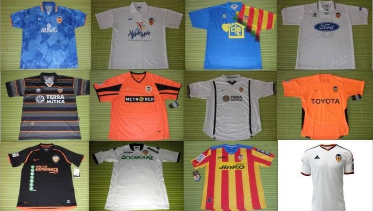 Camiseta Valencia CF venta