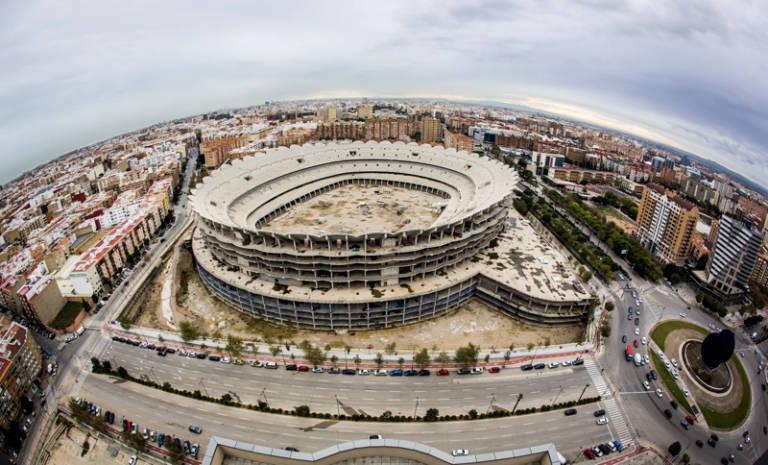 Vcf sanci n ue porxinos y nuevo estadio temas - Campo de futbol del valencia ...