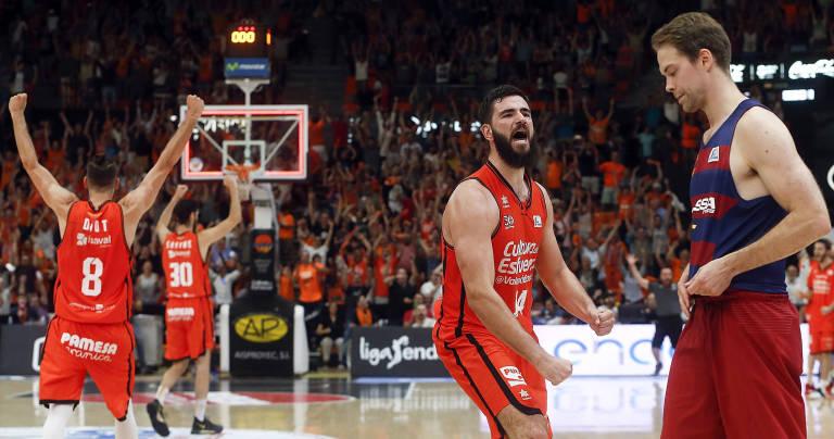 Valencia Basket se carga al Barça en unos cuartos apasionantes