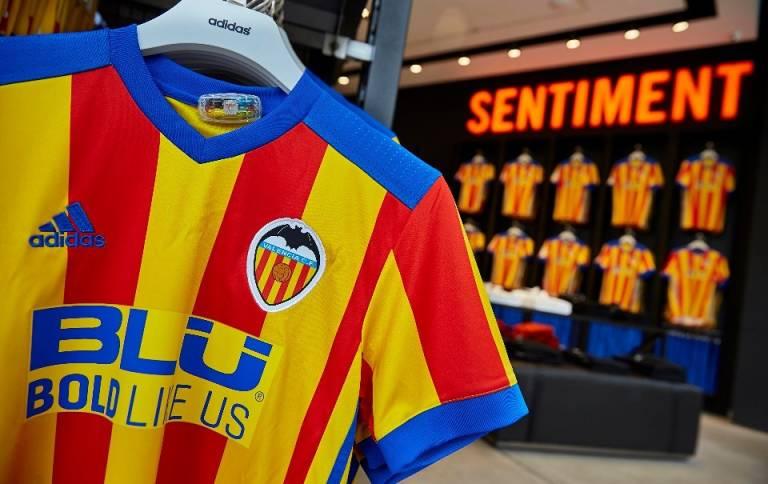 segunda equipacion Valencia CF precio