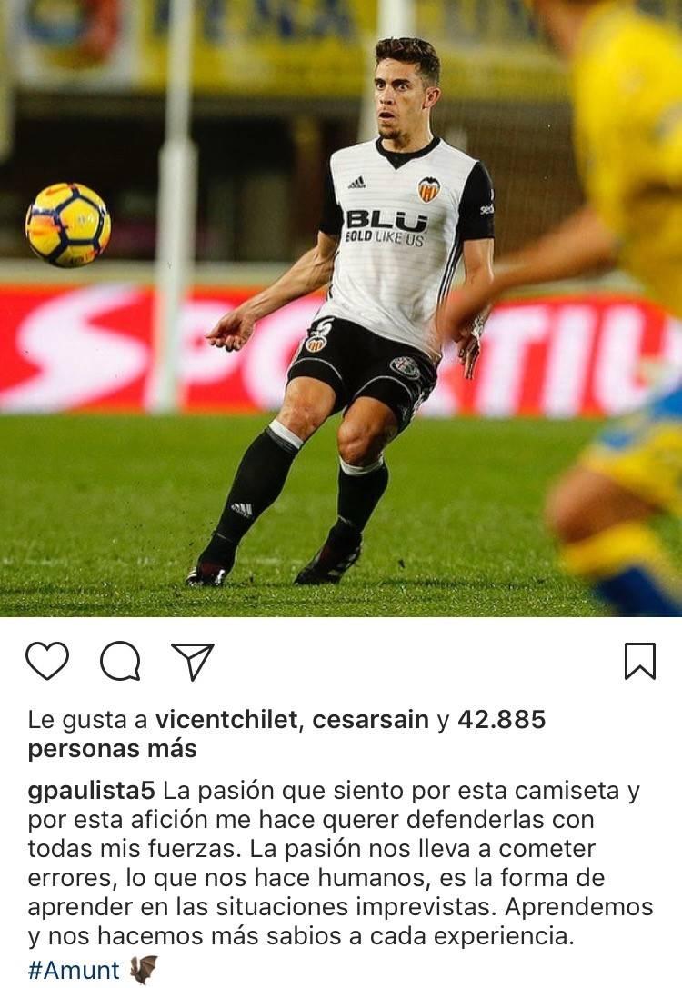 Camiseta Valencia CF Gabriel Paulista