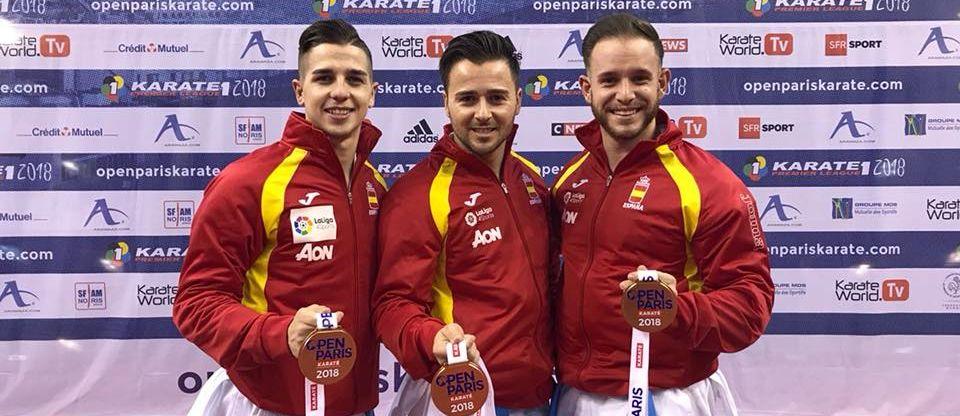Resultado de imagen de FOTO equipo katas masculino 2018