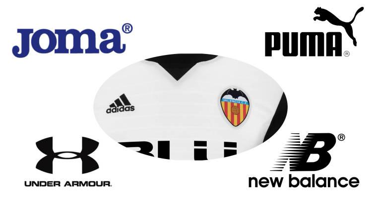 El Valencia rompe con Adidas y elige a Puma