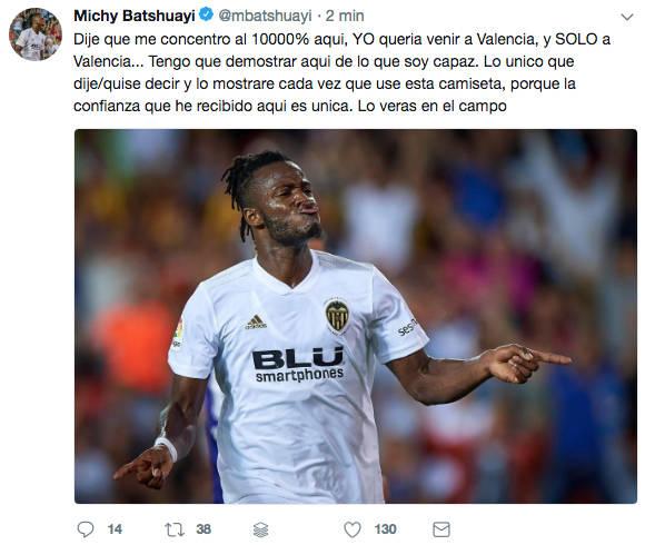 Camiseta Valencia CF Batshuayi