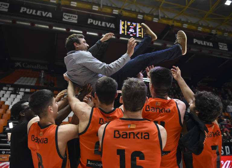 cf0e24d8bc El entrenador del junior del Valencia Basket ha recalcado la importancia de  haber conseguido el billete para la F8 de la ANGT por méritos deportivos