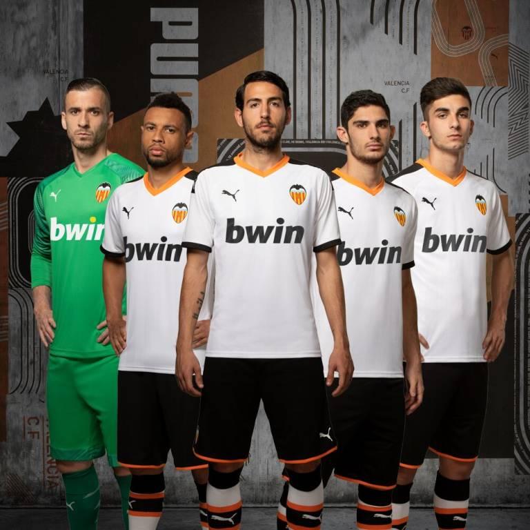 Camiseta Valencia CF visitante 2020