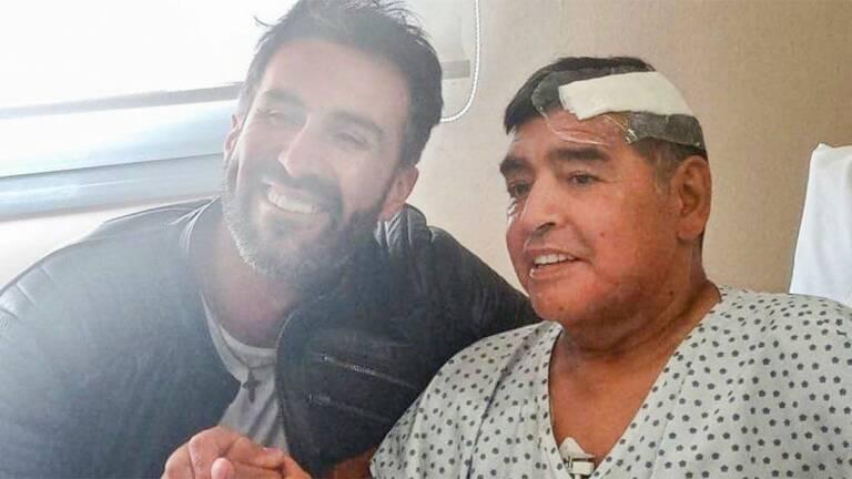 Maradona | Diego Maradona recibe el alta hospitalaria y seguirá supervisado en casa - Plaza Deportiva