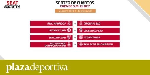 COPA DEL REY   El Valencia se enfrentará al Getafe en los cuartos de ...
